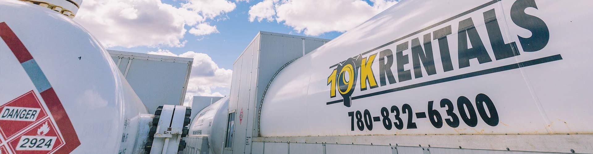 Oilfield storage tanks, oilfield storage tank, prevent well freezing, frac flowback